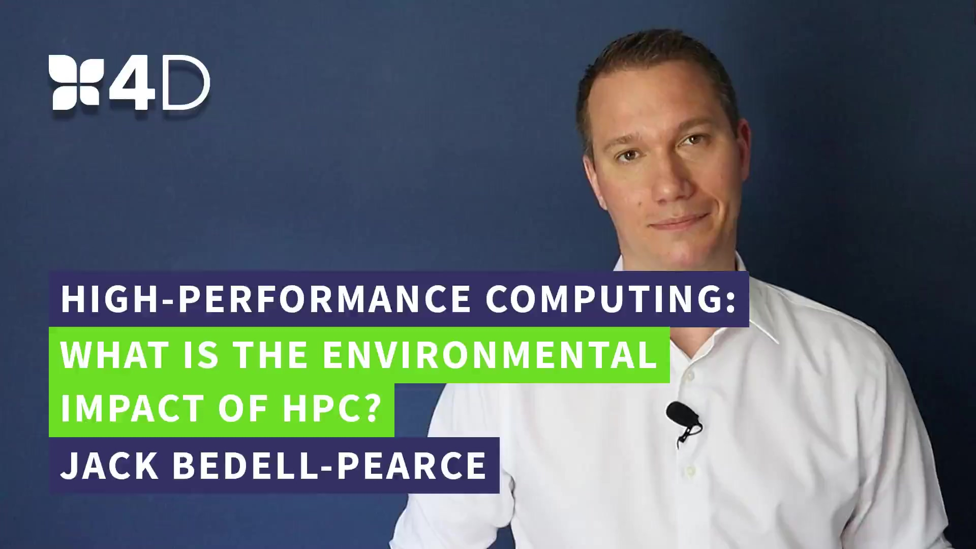 3. 4D - What is the environmental impact of HPC