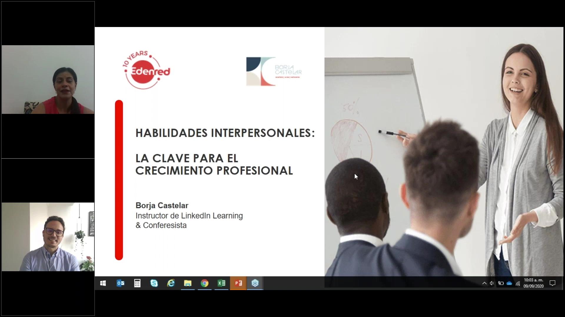 60 clip webinar Habilidades interpersonales la clave para el crecimiento profesional