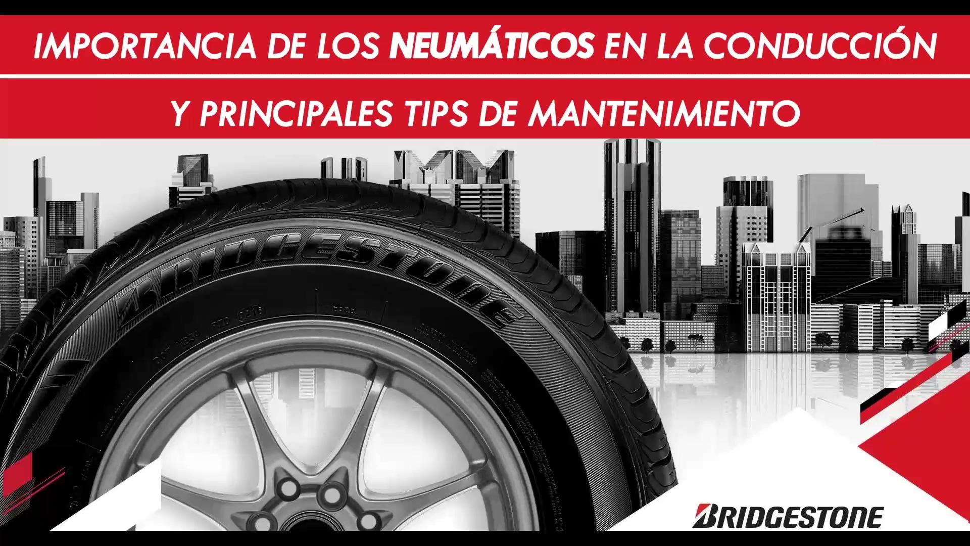 61 clip webinar Importancia de los neumáticos en la conducción y principales tips de mantenimiento