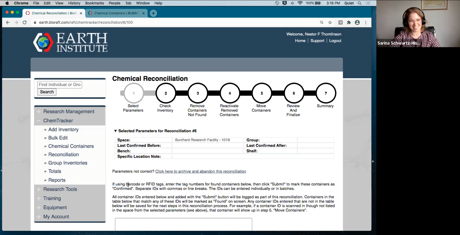 ChemTracker Reconciliation and SDS Attachment Webinar