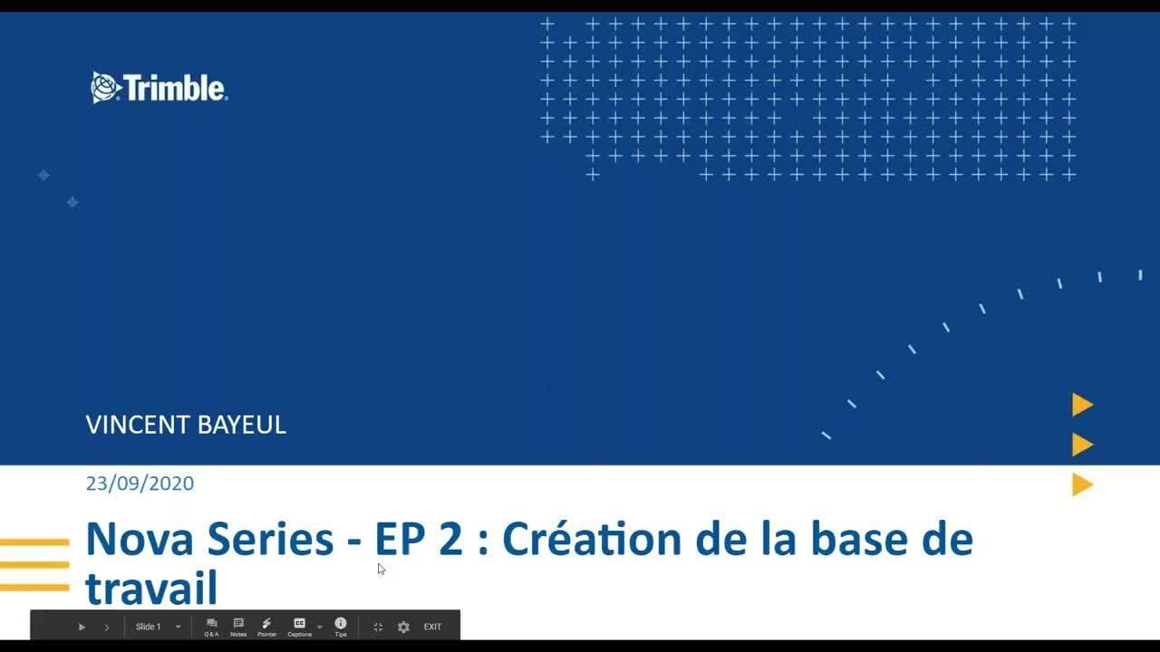 [FRCH] NovaSeries : Création de la base de travail et Gestion des préférences