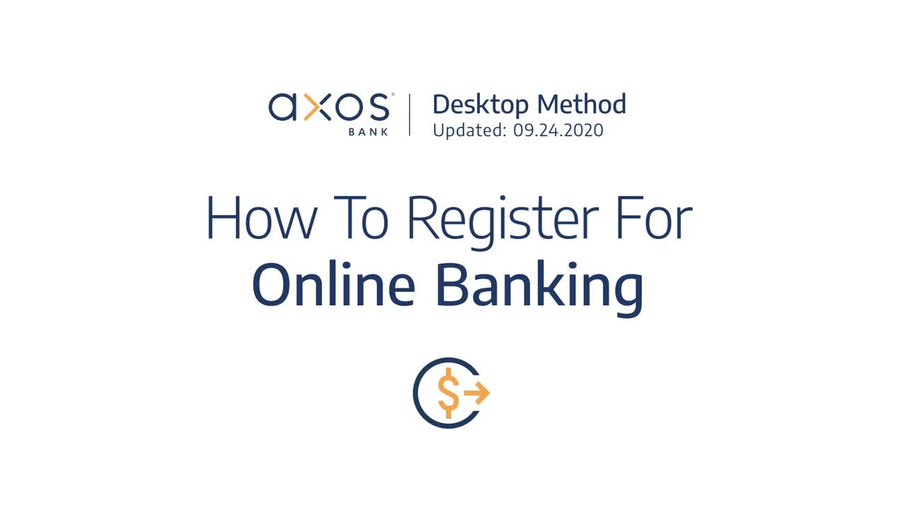How to Register for Online Banking
