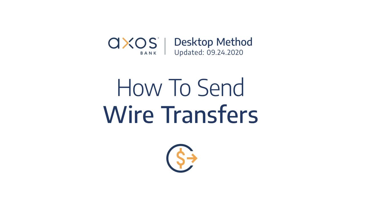 How to Send Wire Transfers