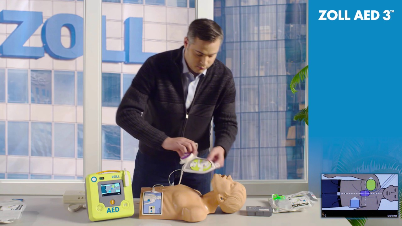 ZOLL AED 3: Training for Unexpected Heroes