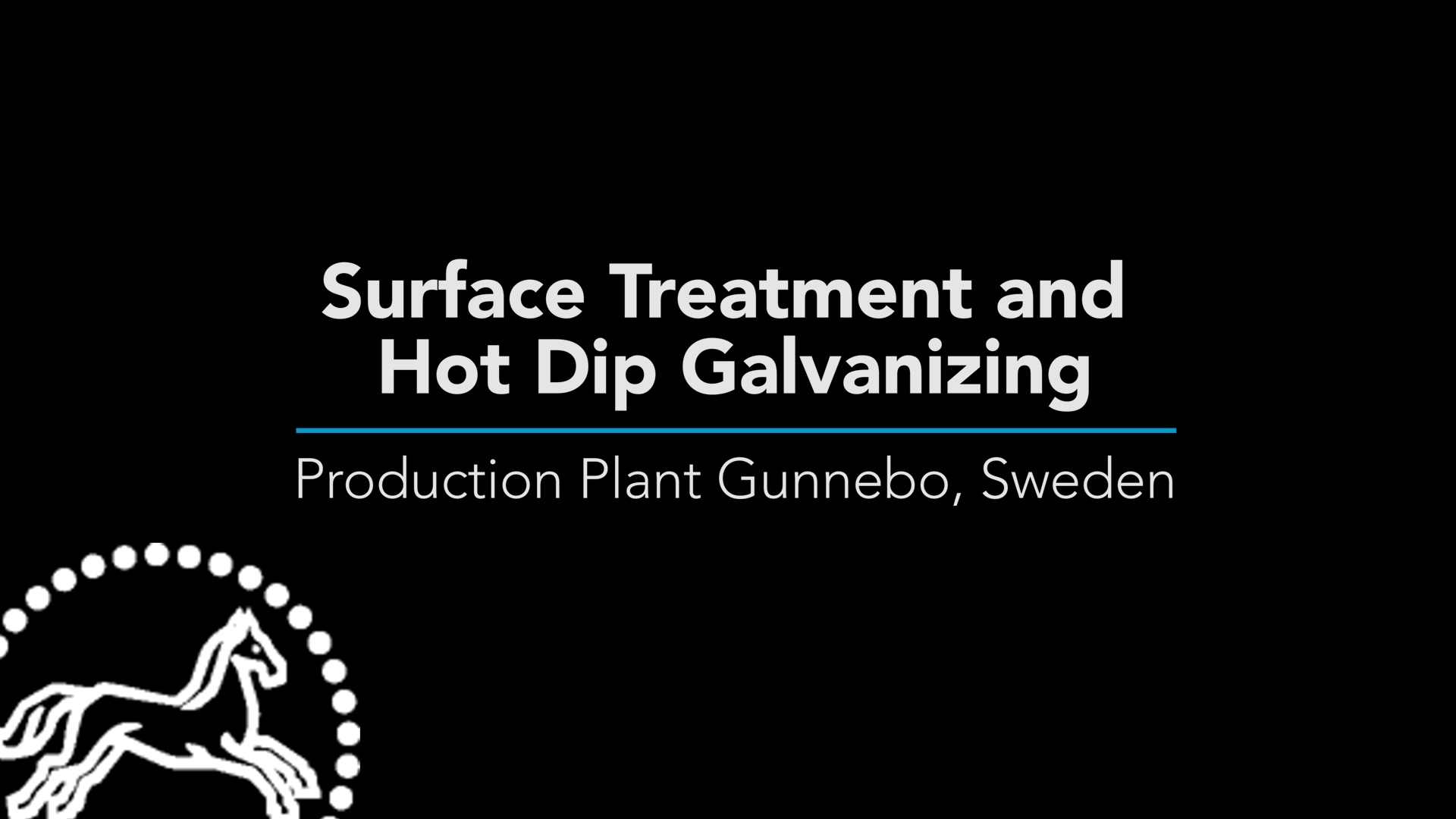 Surface Treatment and Hot Dip Galvanizing Chain