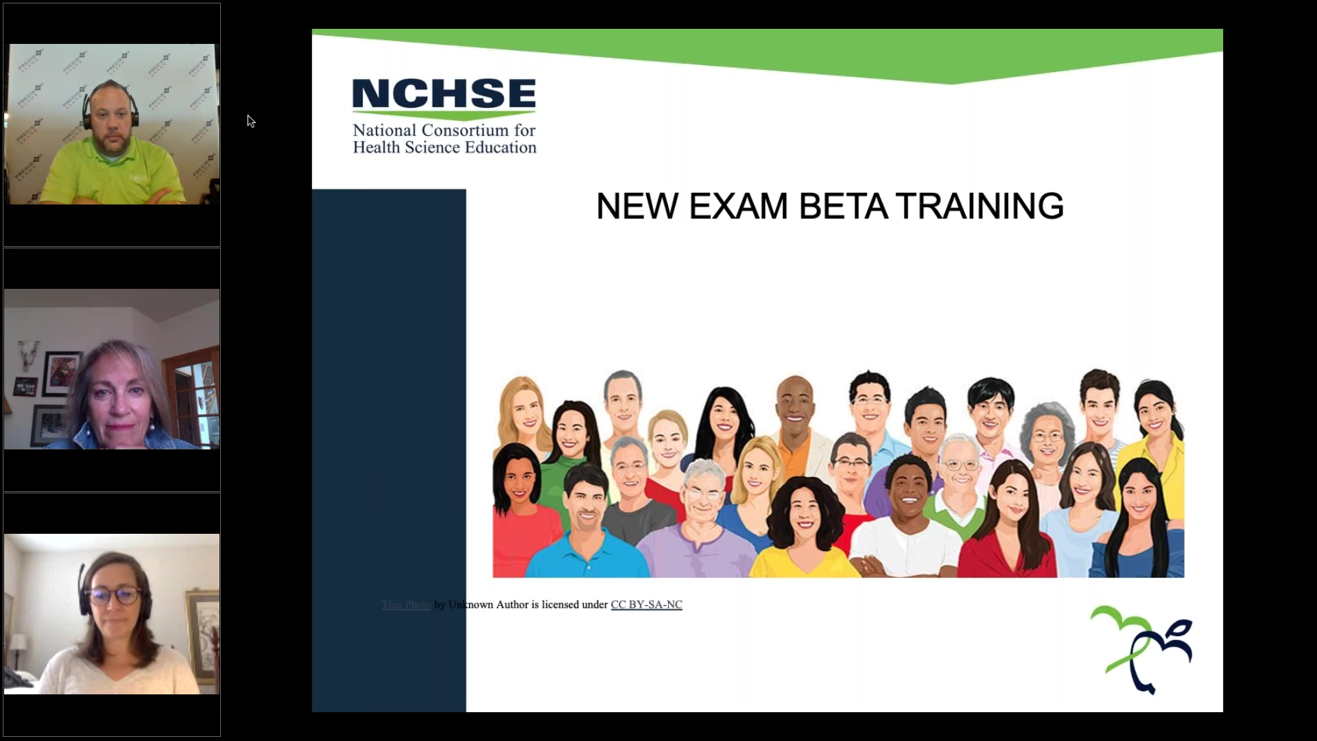 NCHSE - New Health Science Assessment Beta Testing (Training Webinar) (1)