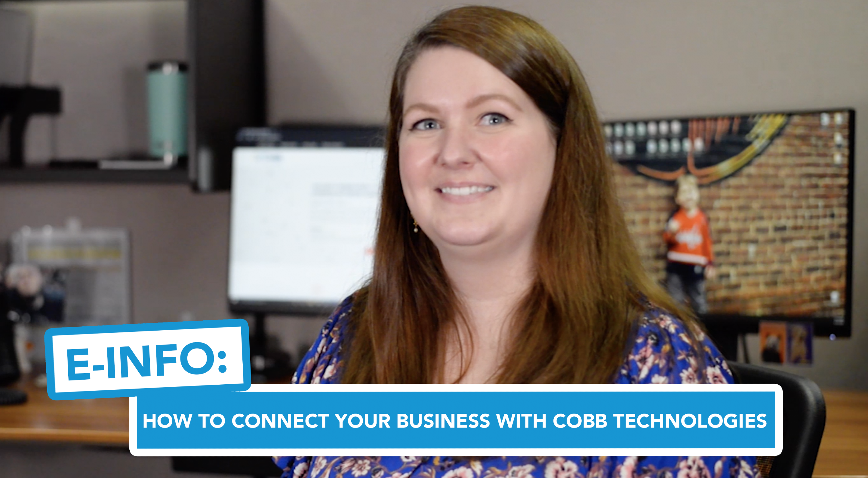 E-Info - How to Connect Your Business With Cobb Technologies Online