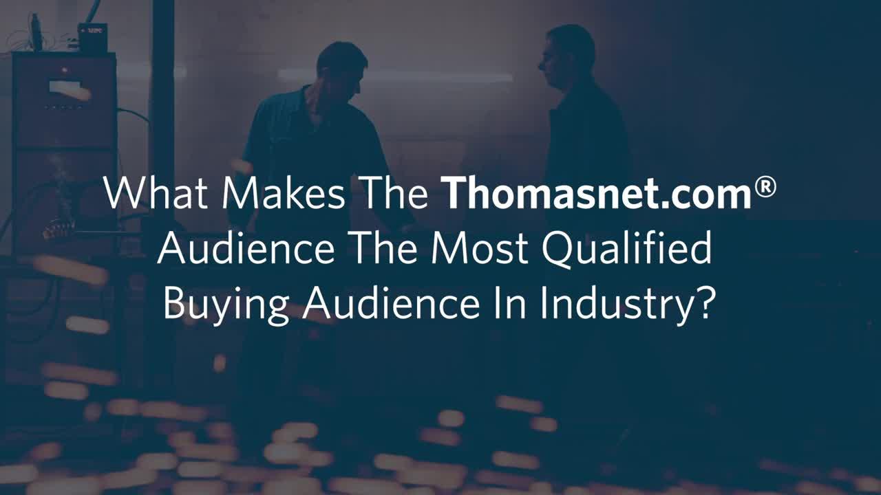 Who Uses Thomasnet.com® To Source?