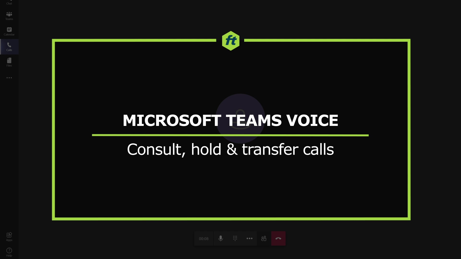 MTV - Consult-hold-transfer
