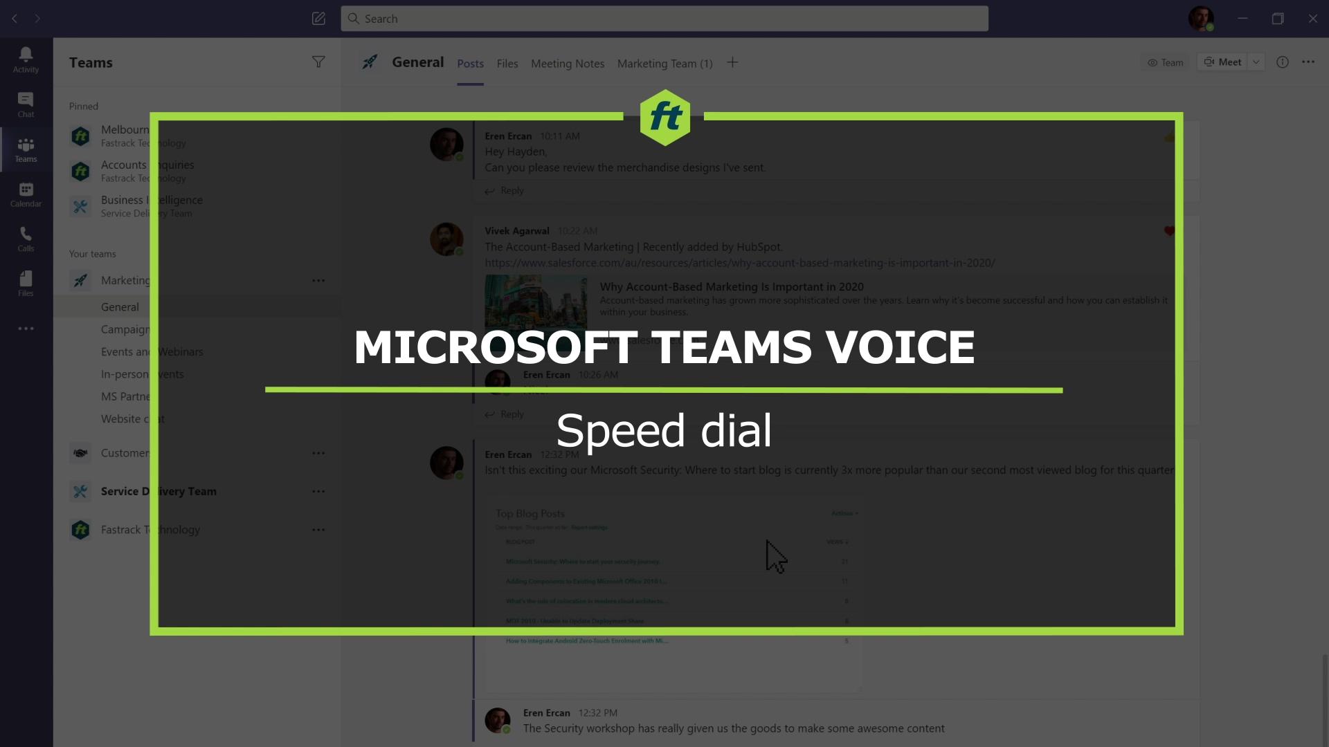 MTV - Speed dial