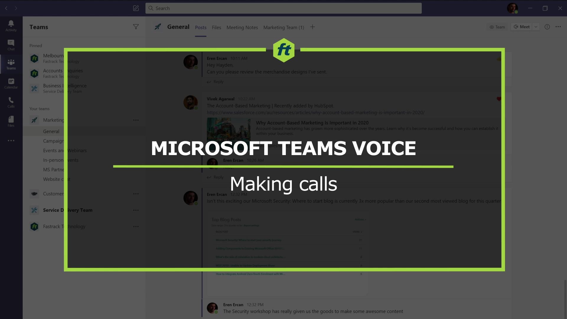 MTV - Making Calls