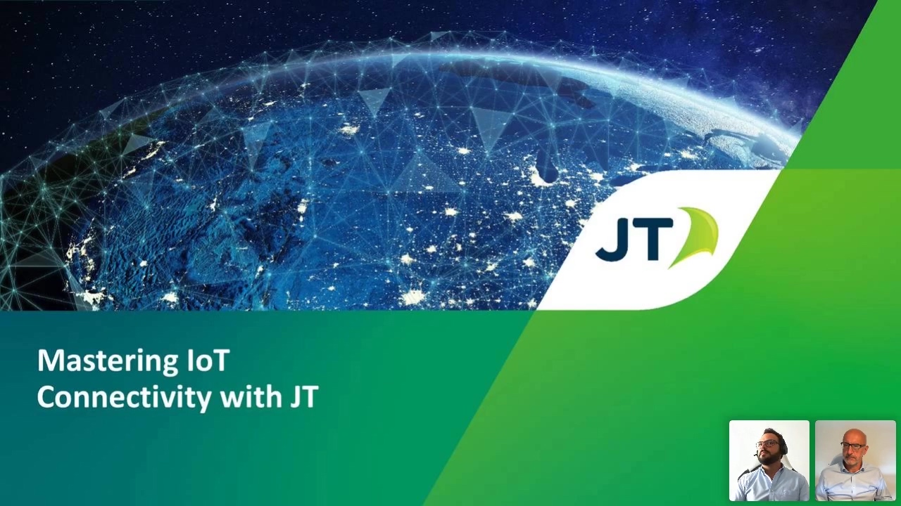 Mastering IoT connectivity with JT Session 1