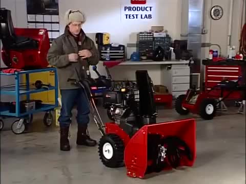 Operating a Snow Blower Safely: Toro Power Max