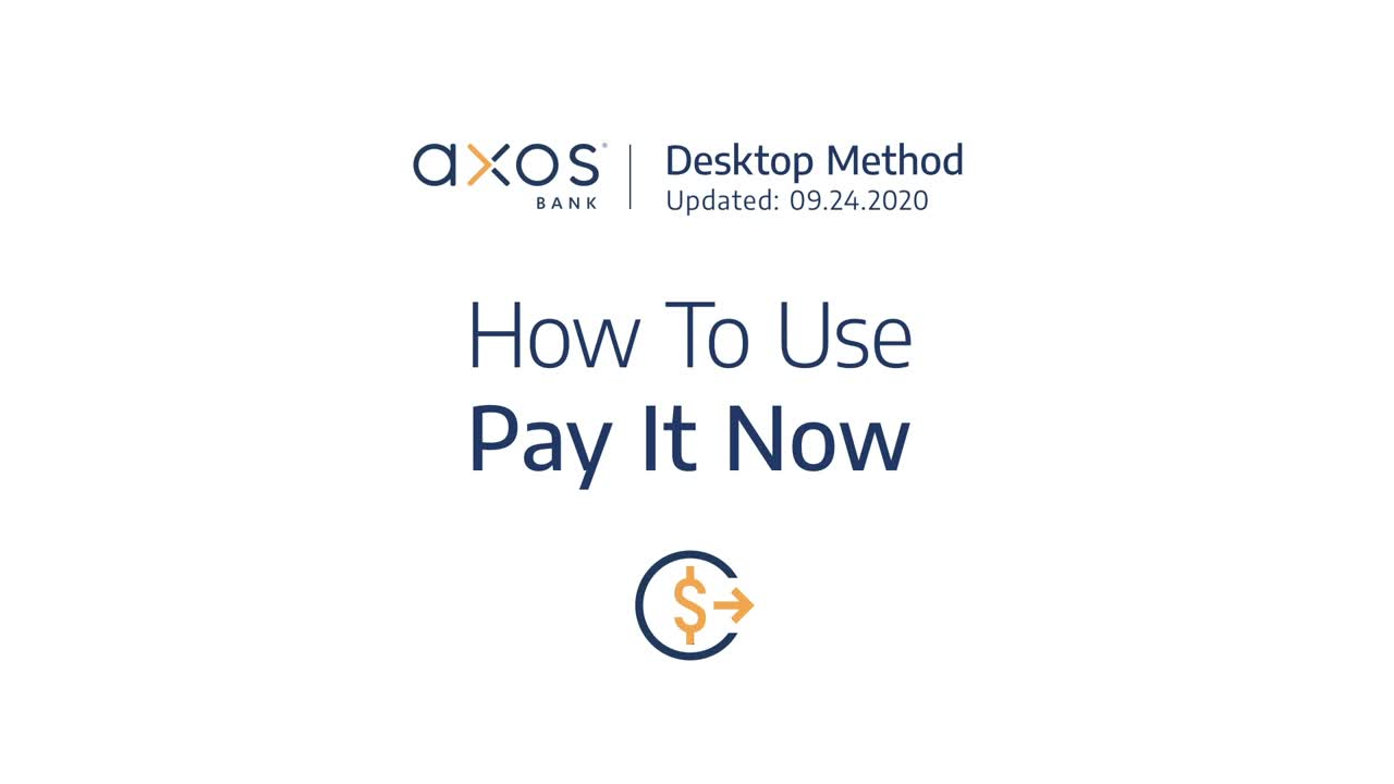 How to Use Pay It Now