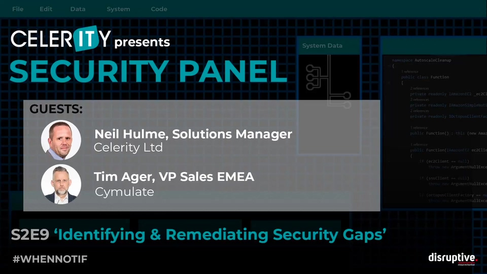 Security Panel - Identifying & Remediating Security Gaps