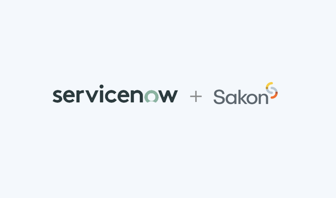 ServiceNow Powered by Sakon Mobile