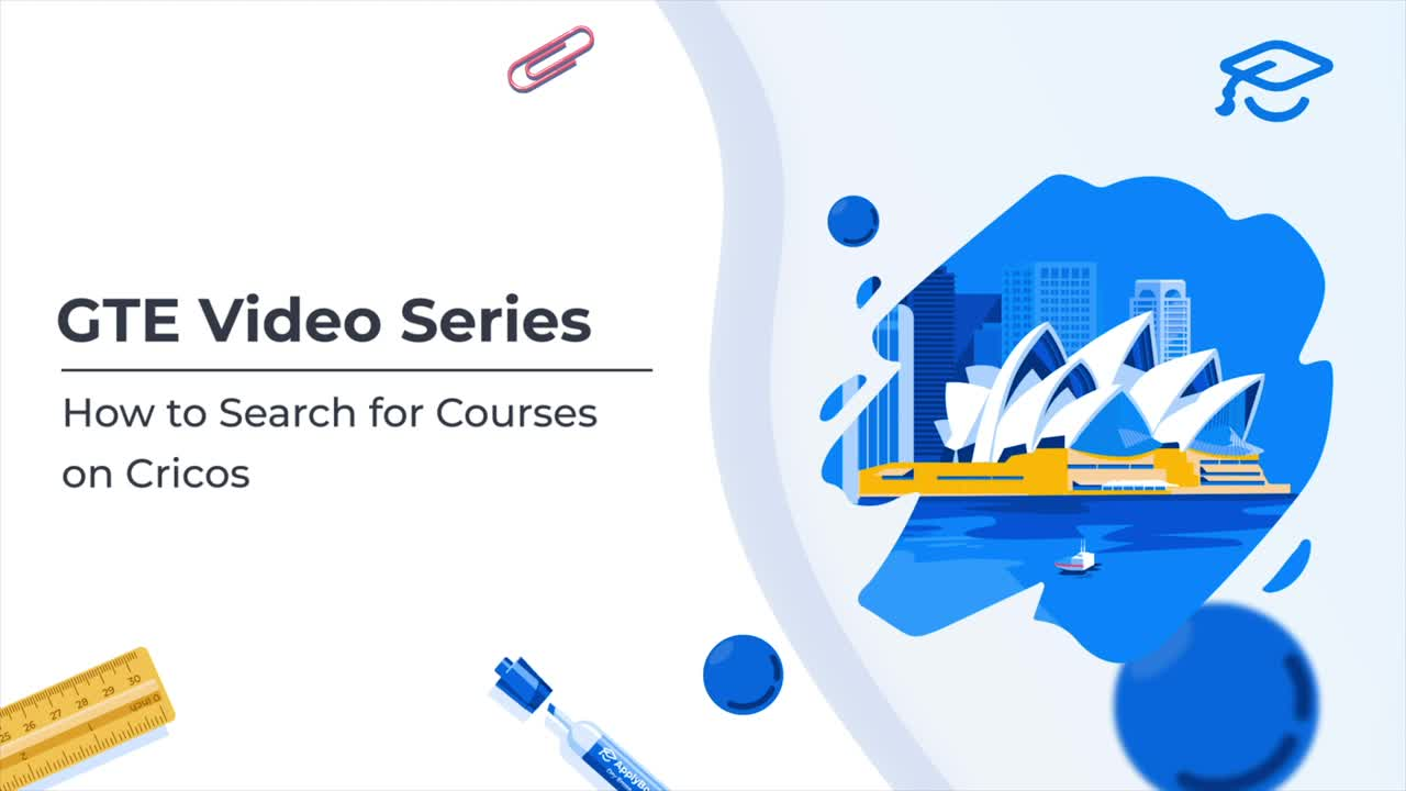 Video of How to Search for Courses on Cricos