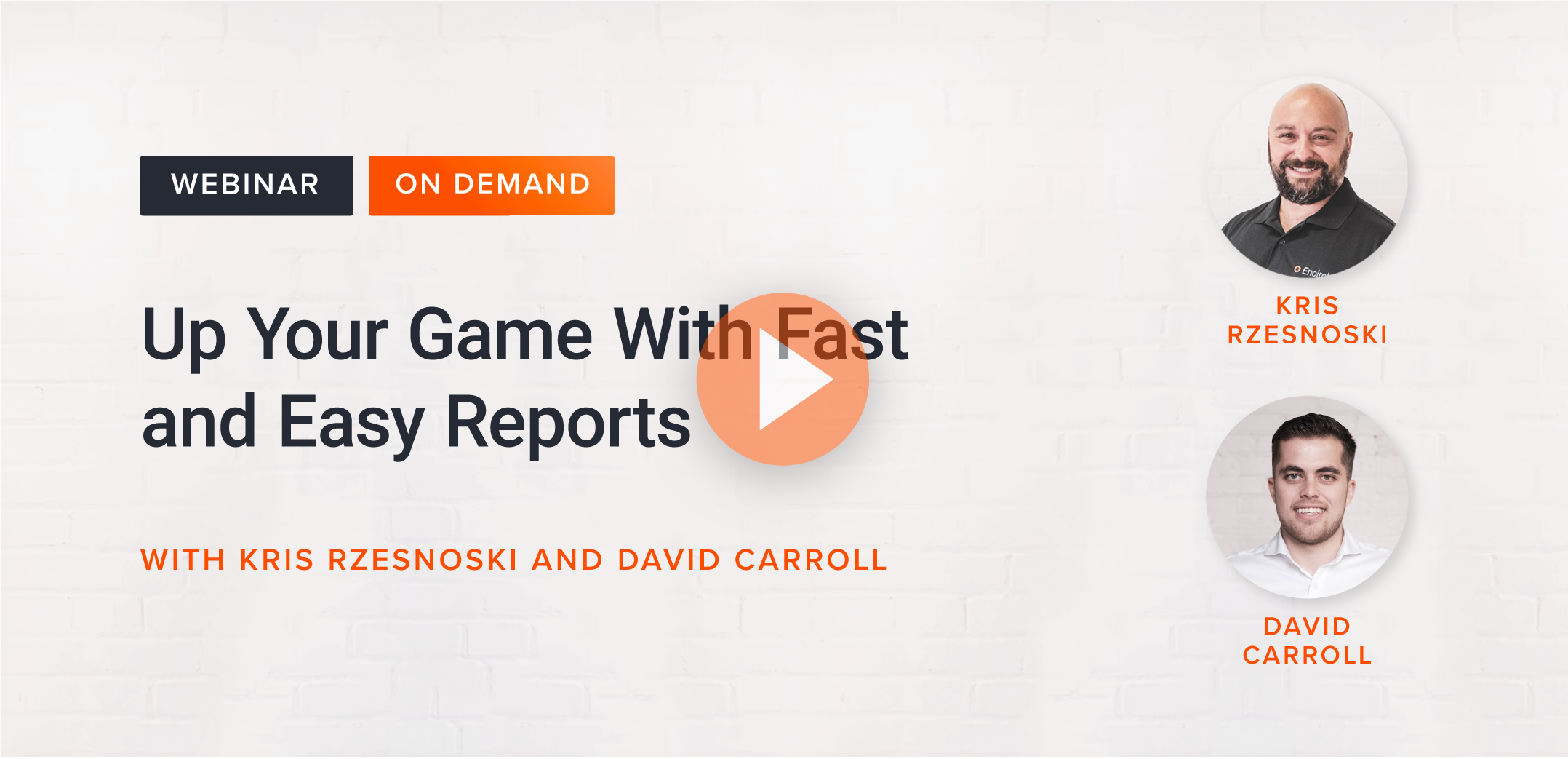 Up Your Game With Fast and Easy Reports