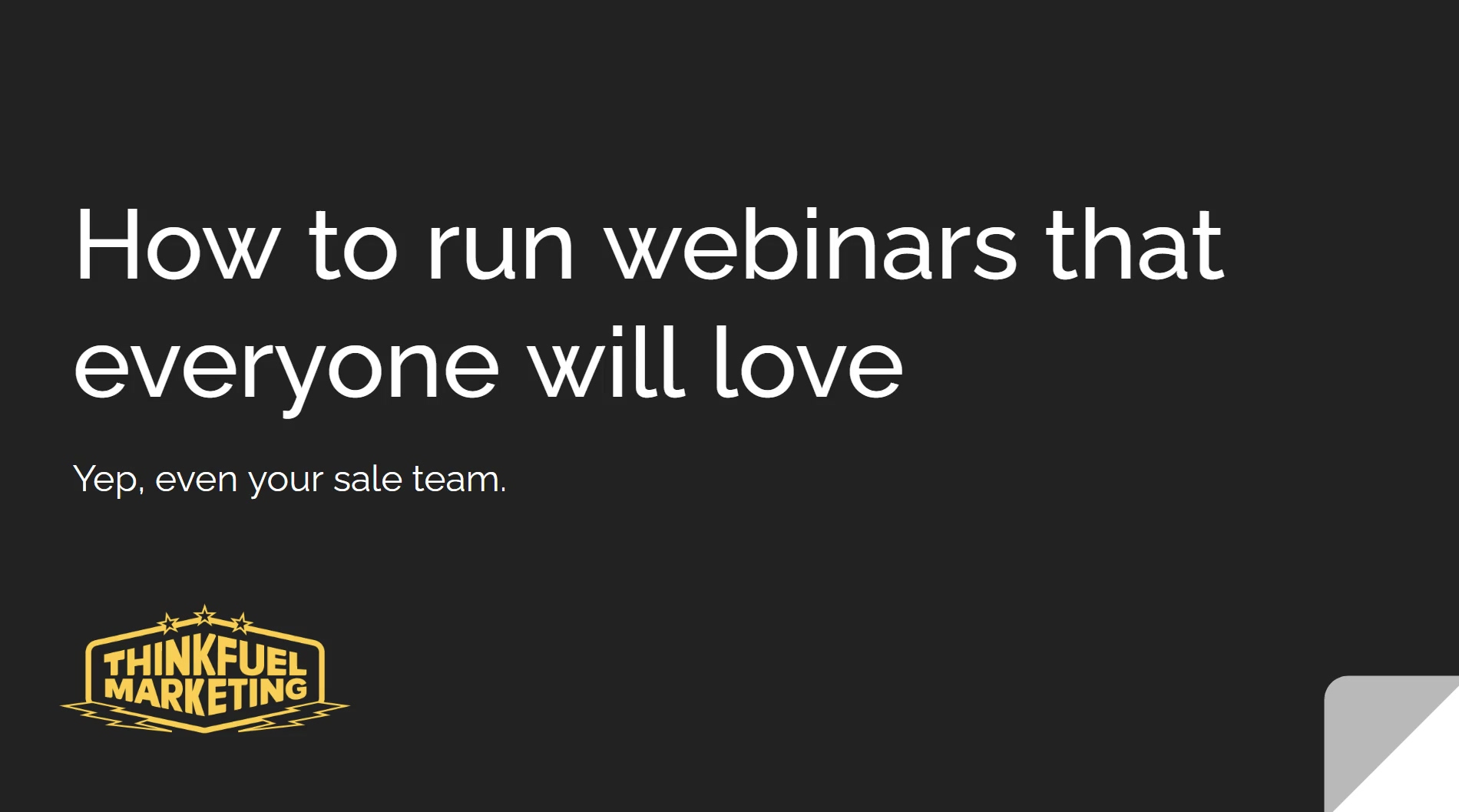 How to Plan a Webinar Everyone will Love