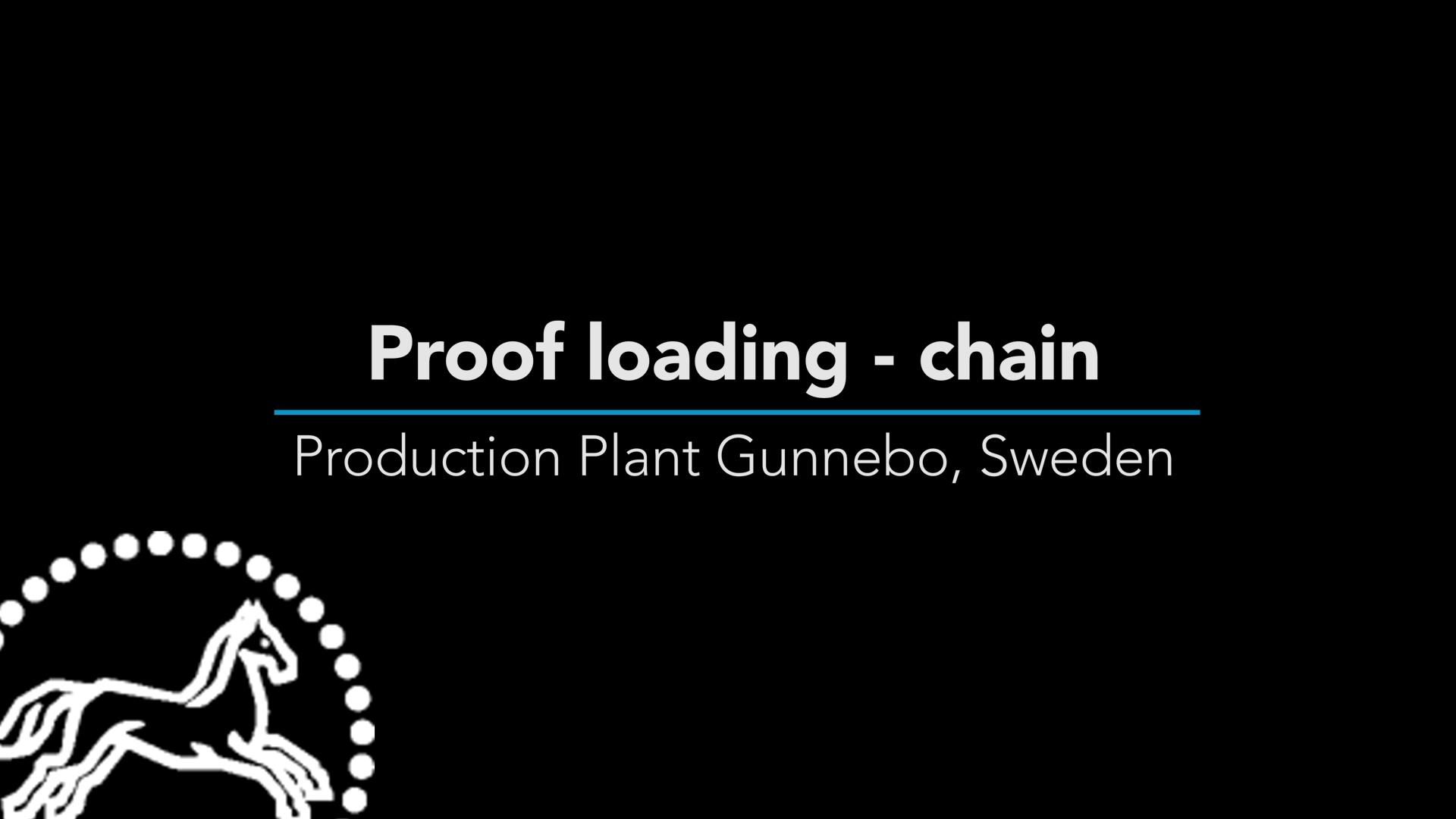 Proof Loading Chain Final