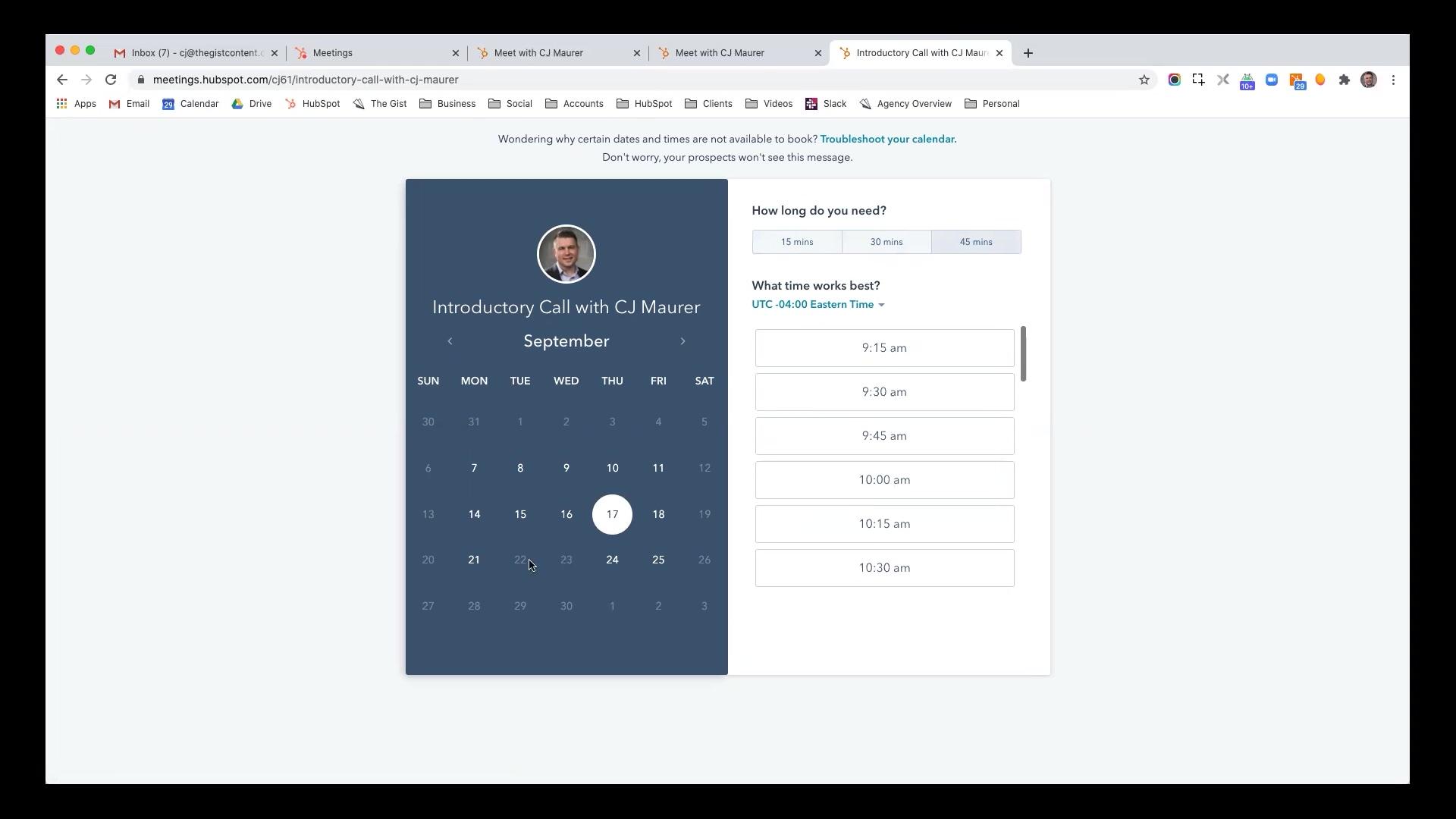 Hubspot - Creating a Meeting (Calendar) Link.mp4