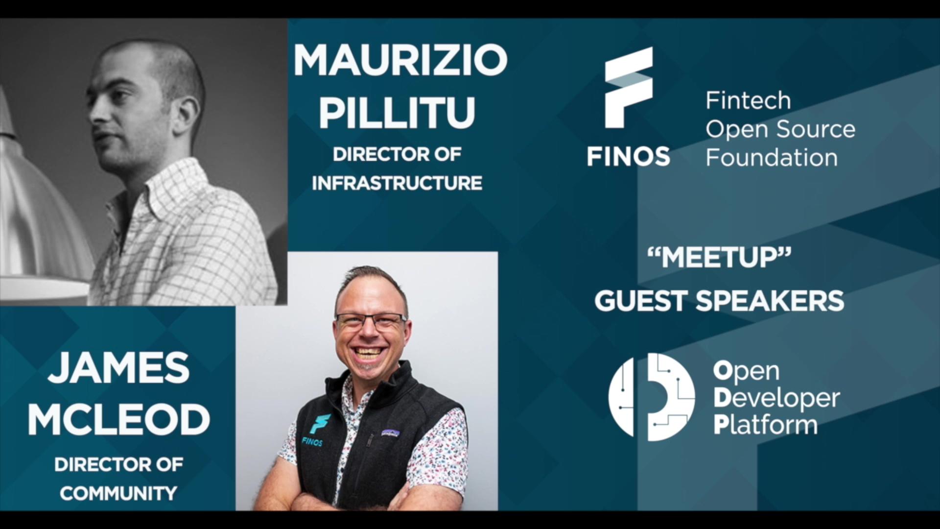 FINOS Meetup - ODP - 23 Sep 20