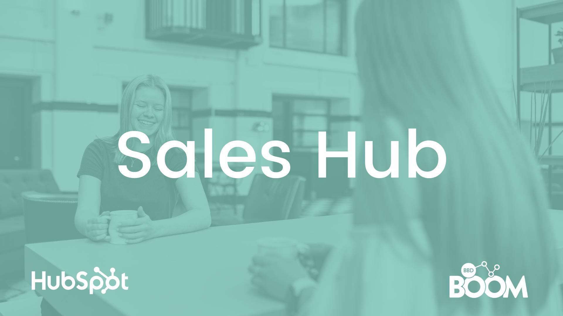 Sales Hub - Elysha