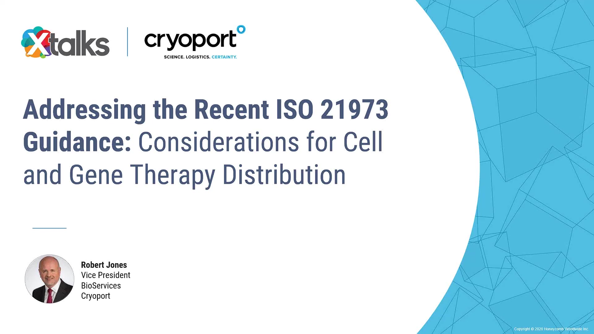 2020-10-01 11.01 Addressing the Recent ISO 21973 Guidance_ Considerations for Cell and Gene Therapy