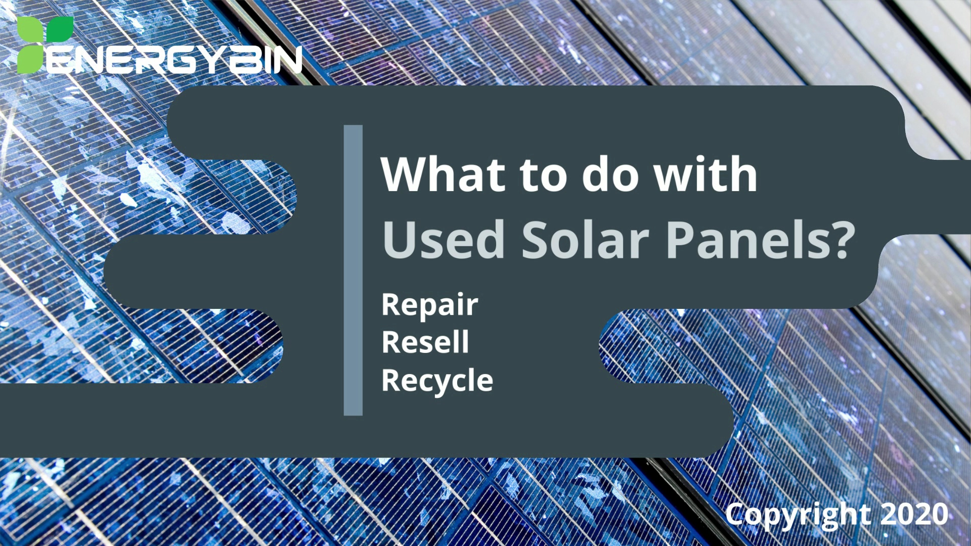 What to Do With Used Solar Panels_video