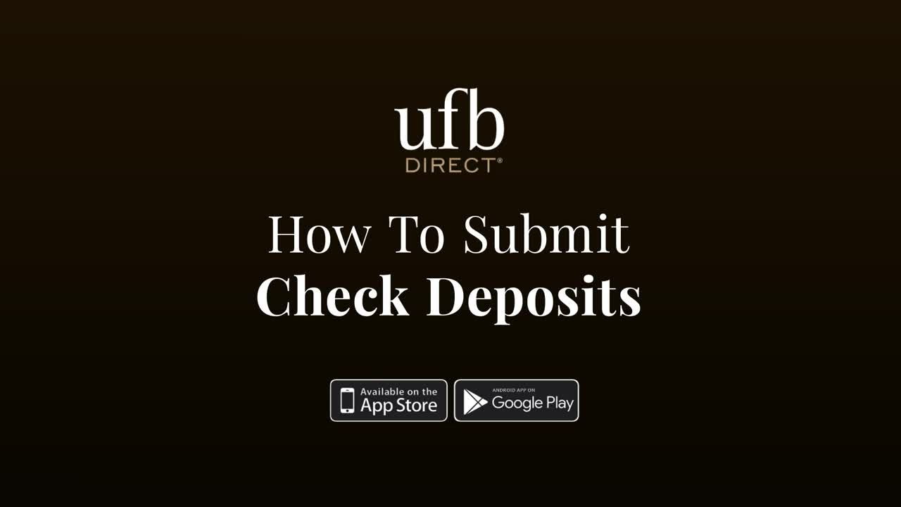 How To Make A Deposit, play video