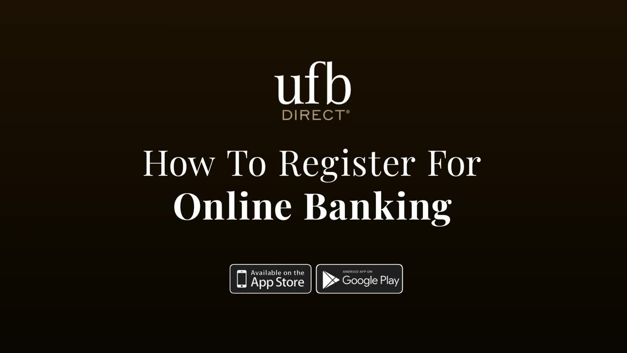How To Register For Online Banking, play video