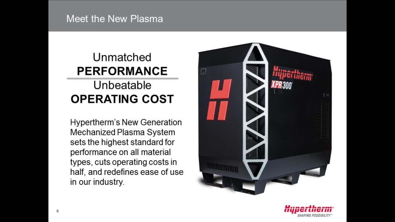 Meet the new plasma XPR300