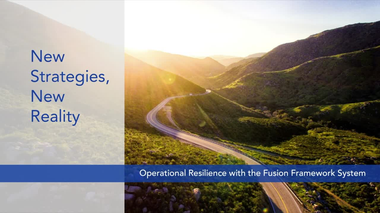 Operational Resilience Overview