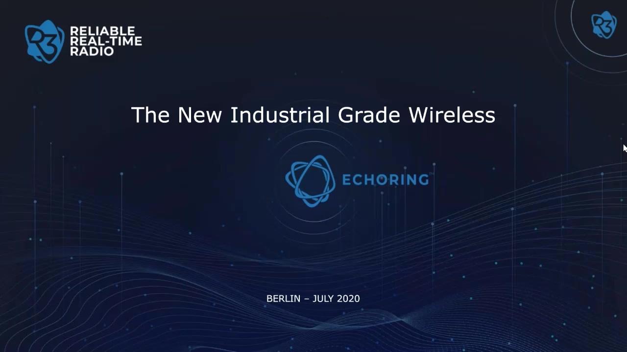 Introduction to EchoRing web-seminar