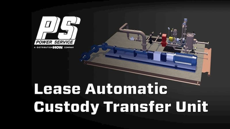 Lease Automatic Custody Transfer (LACT) unit _ Power Service a DistributionNOW Company _ DNOW