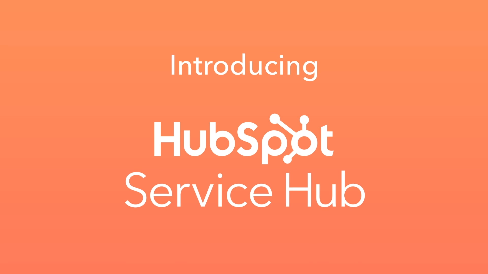 Service Hub Product Overview Page Video