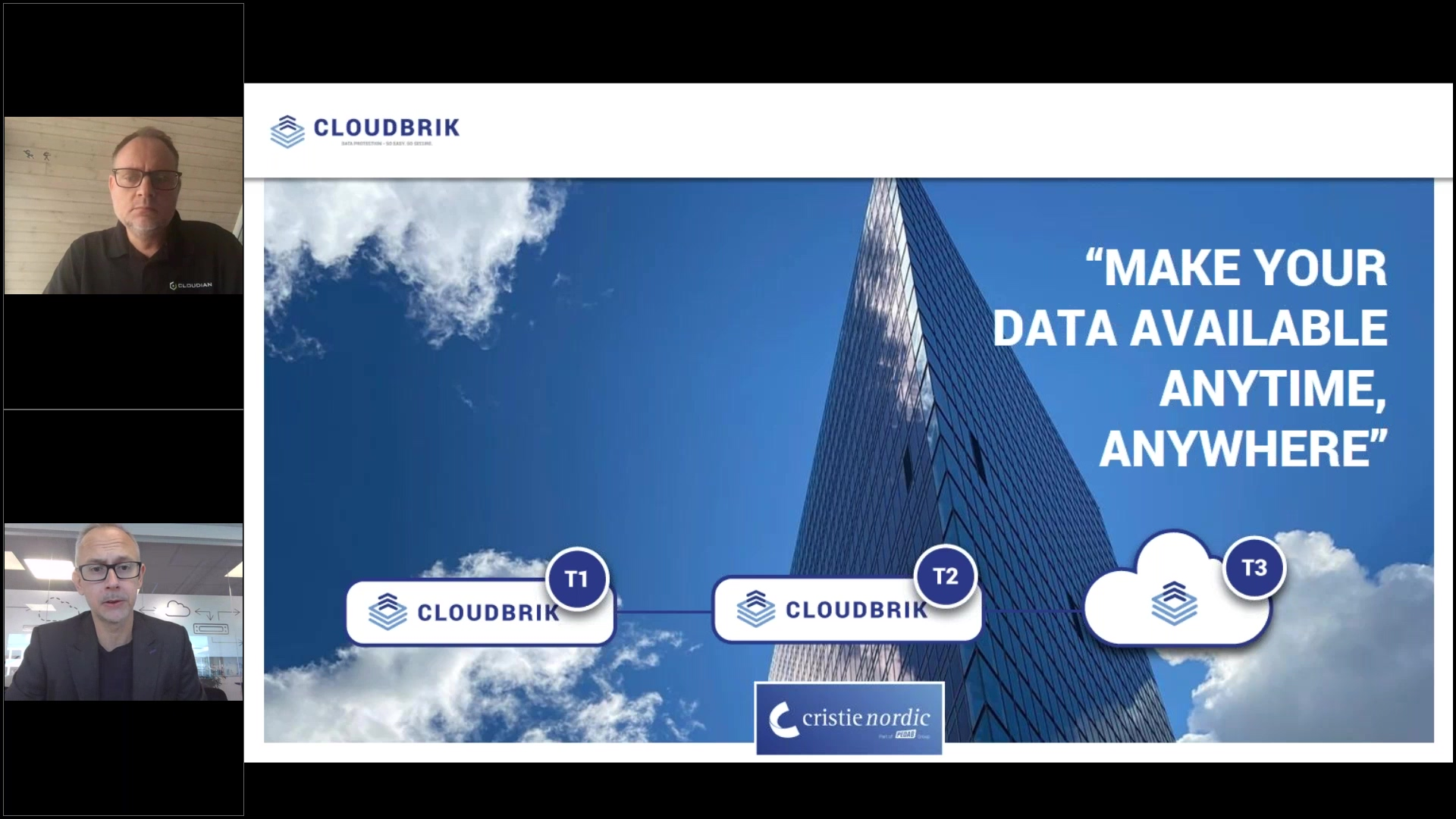 Cristie and Cloudian - Bring the cloud home webinar