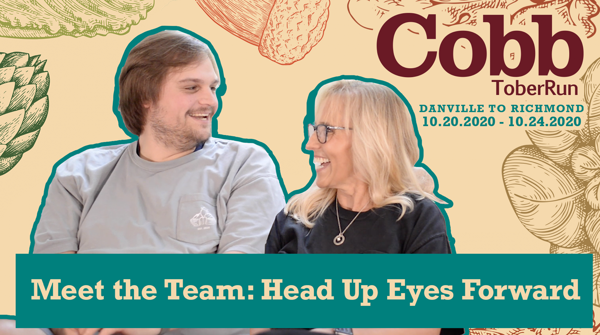 CobbtoberRun 2020 Meet the Team- Head Up Eyes Forward