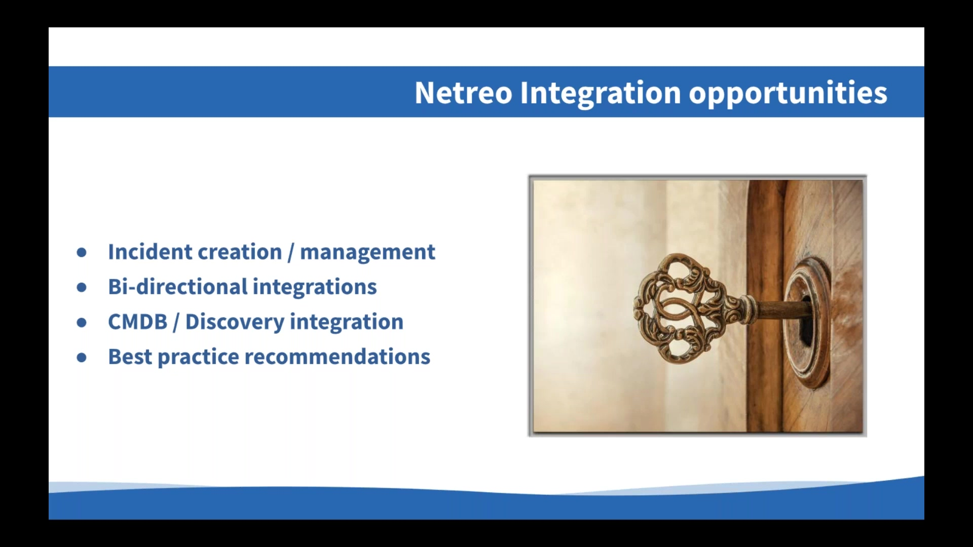 Integrating Netreo with ServiceNow to Streamline Operations