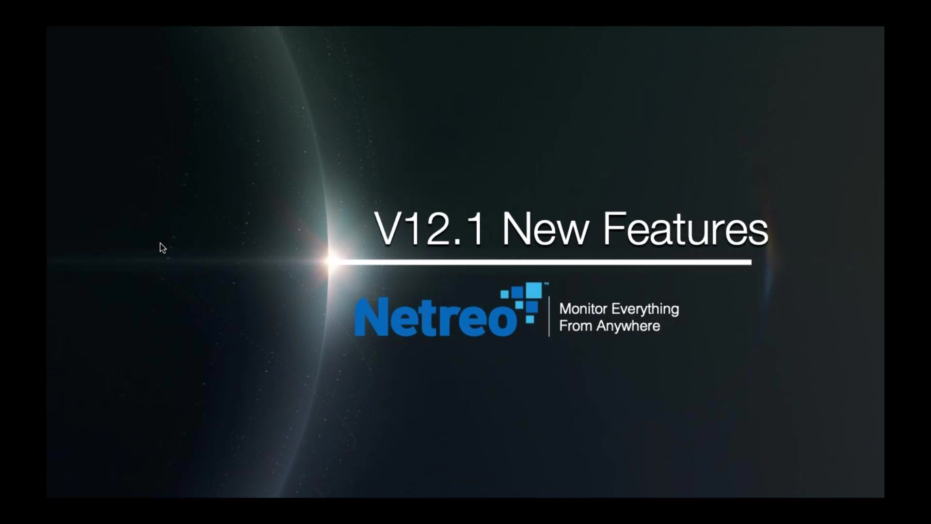 Introducing Netreo v12.1
