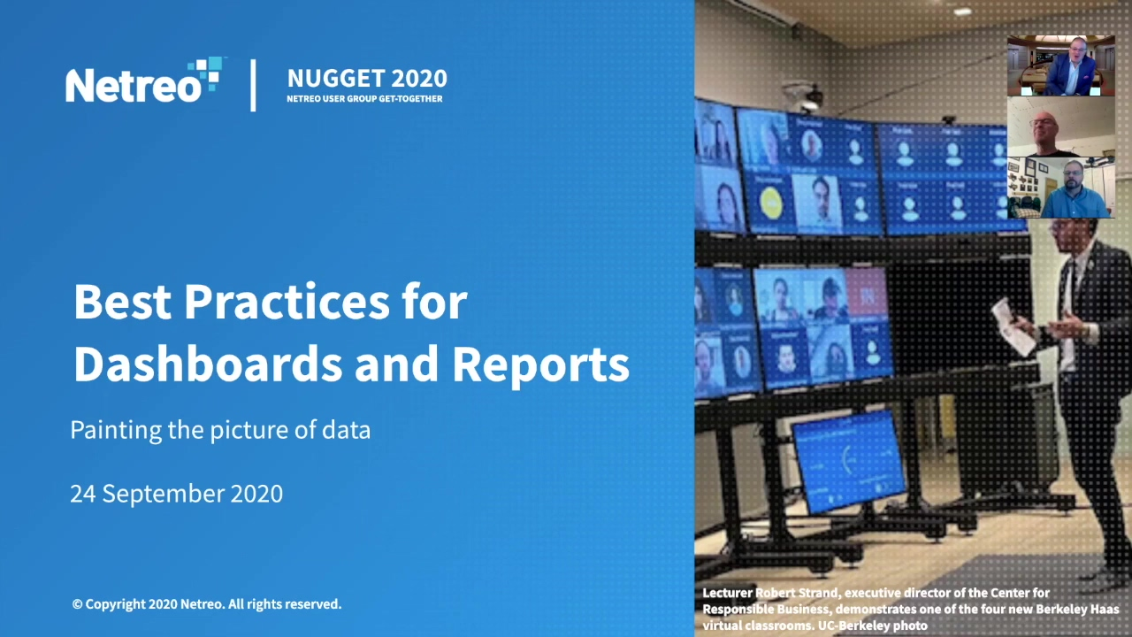 Panel_ Best Practices for Dashboards and Reports