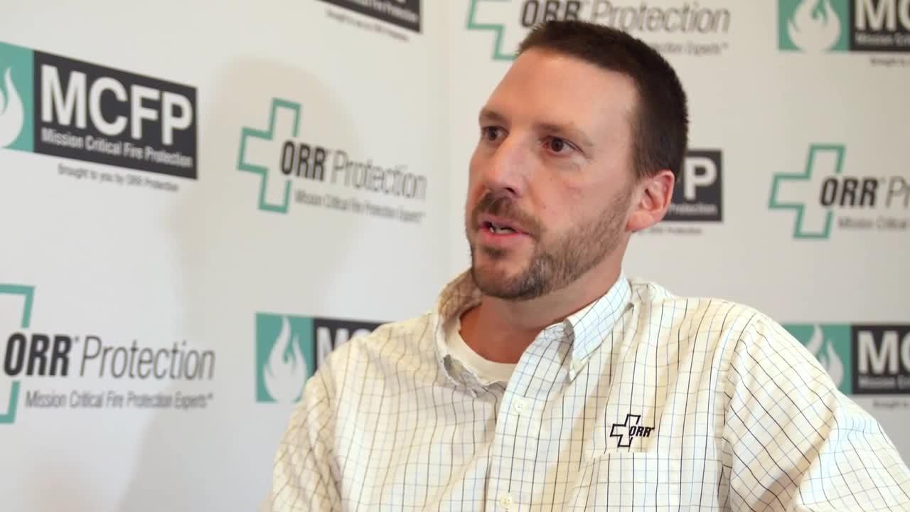 Matt McTyre of ORR Protection