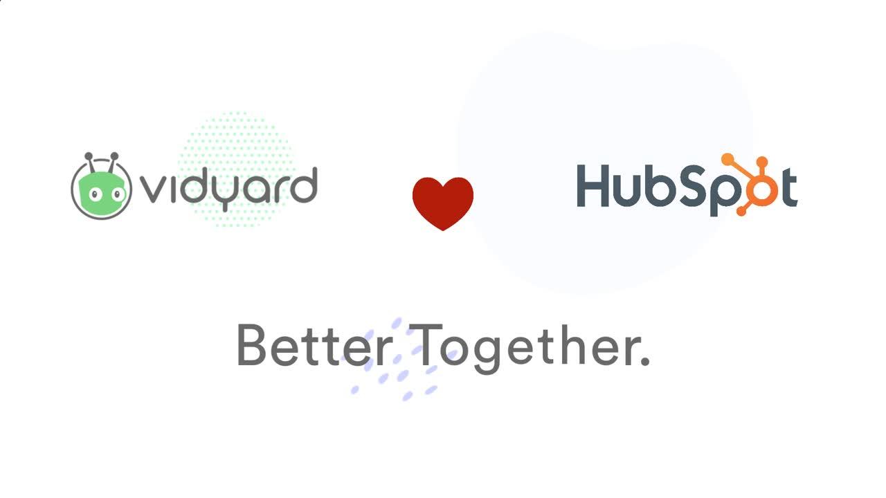 Micro Demo for Sales Team: Vidyard's HubSpot Integration