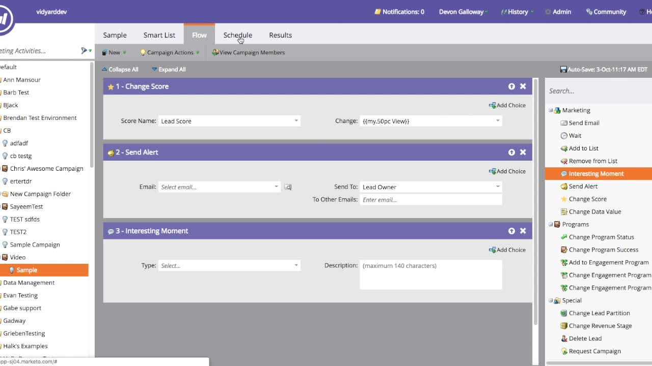 Micro Demo for Sales Team: Vidyard Integration with Marketo