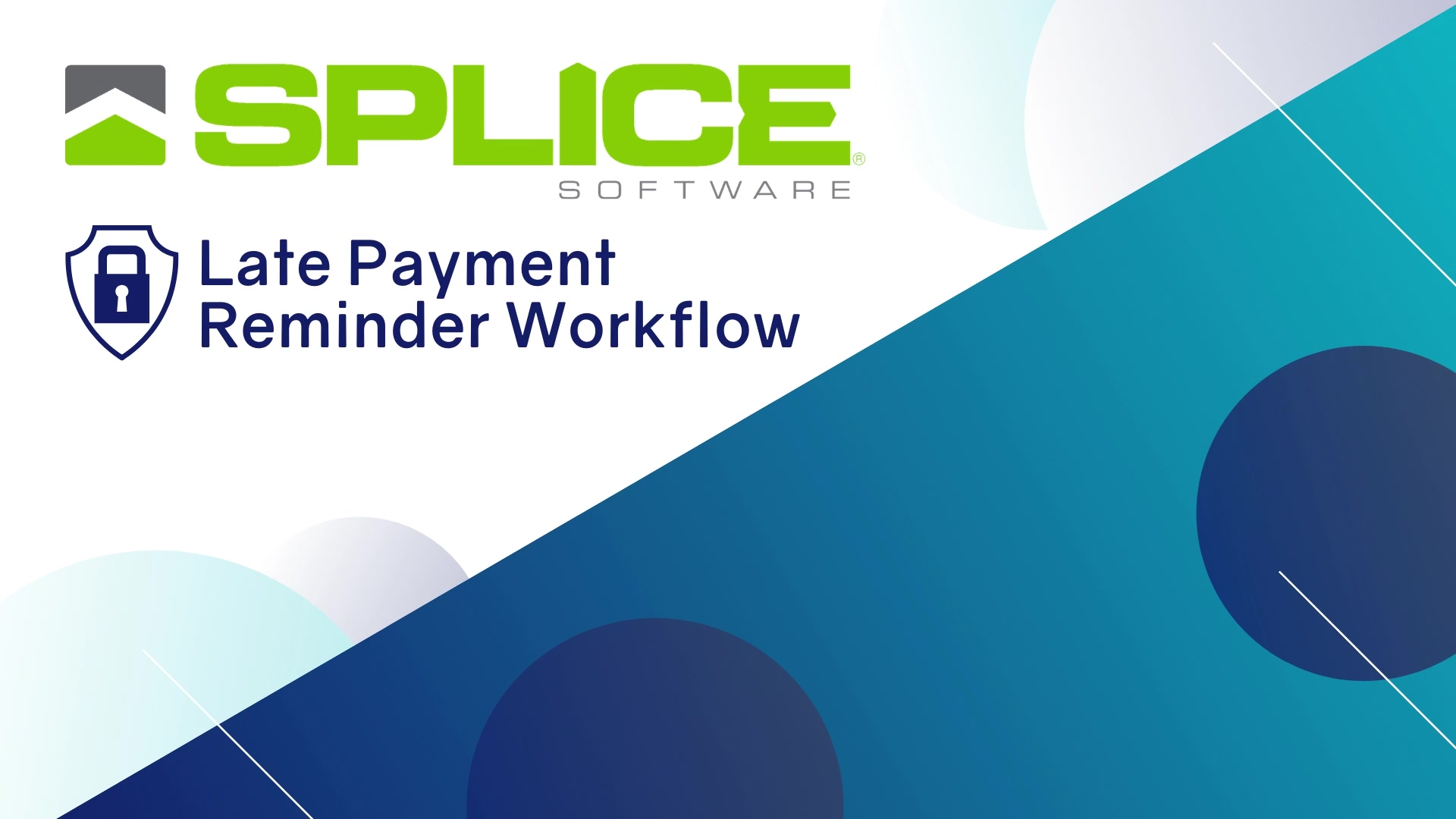 Late Payment Reminders Workflow Video