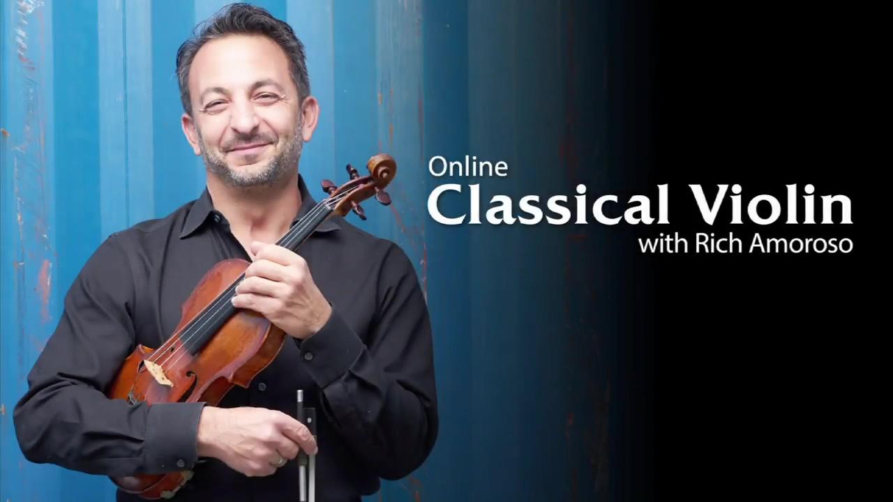 Violin Lessons at ArtistWorks Richard Amoroso