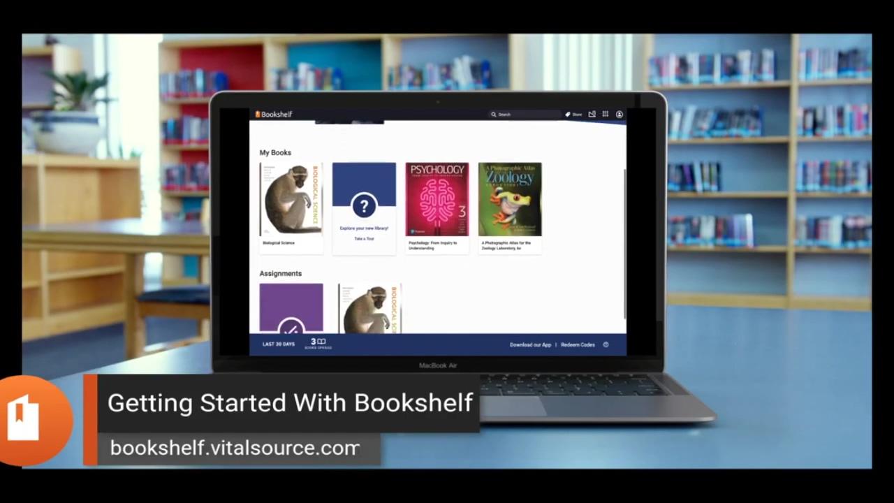 Getting Started w Bookshelf INTL