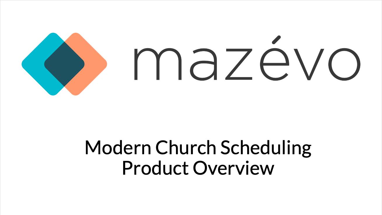 mazevo product demo