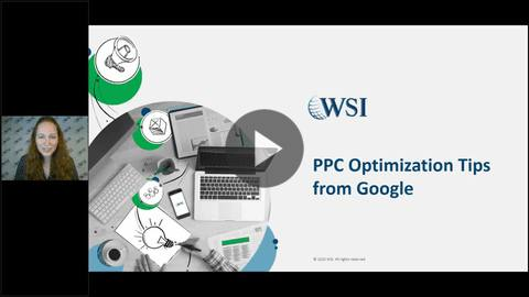 Screenshot of PPC Optimization Tips from Google webinar.