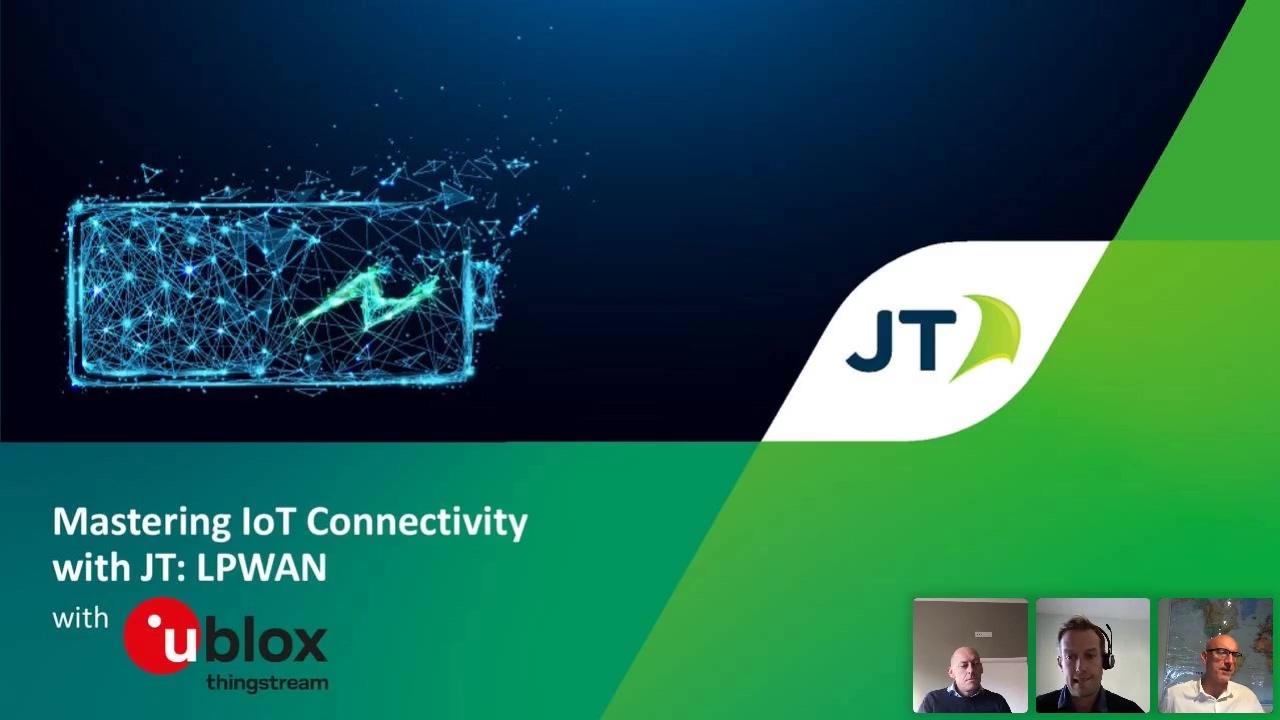 Mastering IoT Connectivity with JT LPWAN +u-blox